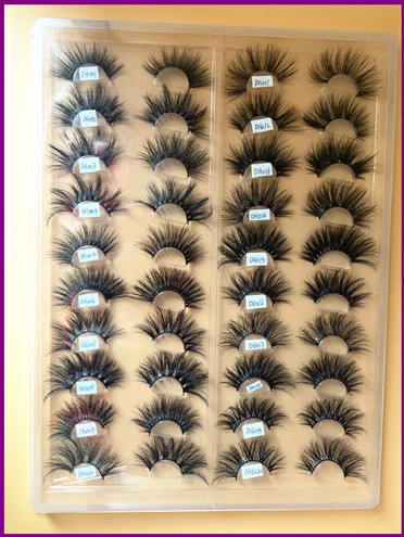 25mm Mink Lashes Sample