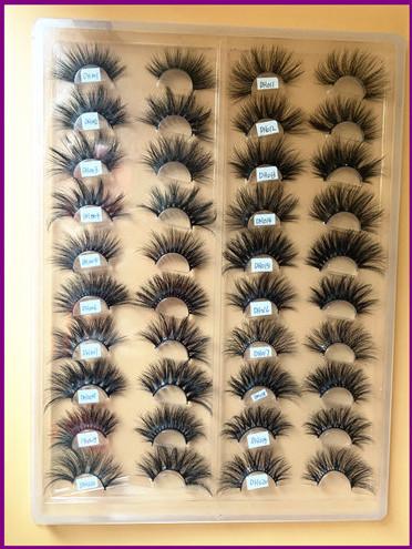 25mm Mink Lashes Sample