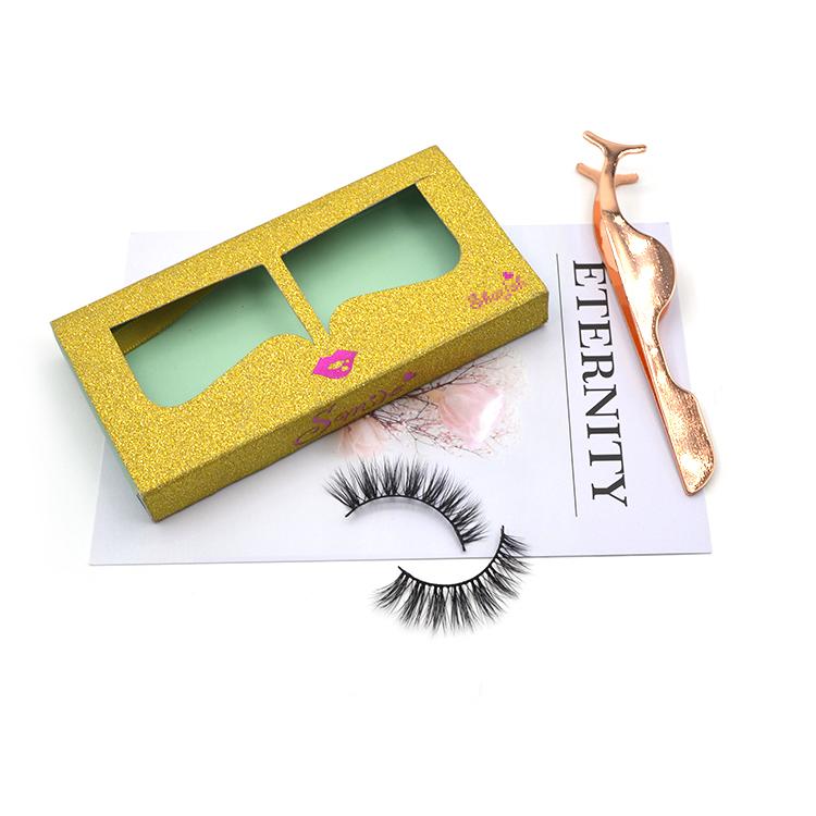 Pull the eyelash box