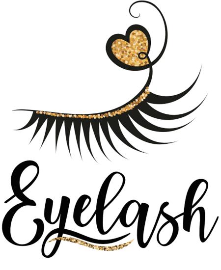 3D Mink eyelashes box logo