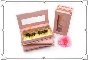 3D Mink Lashes and eyelashes box