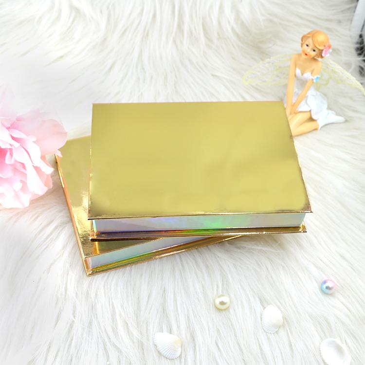 gold mink eyelashes kit set