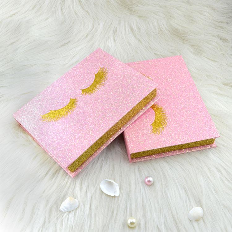 pink eyelashes kit