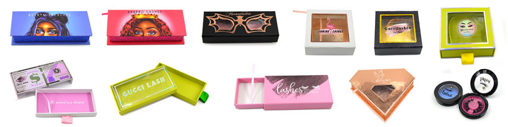 Lashes Packaging Design