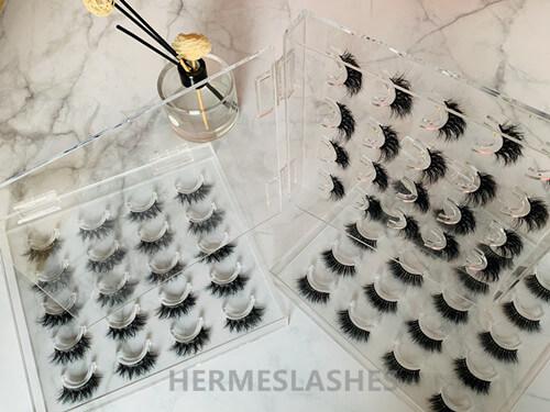 eyelashes display box