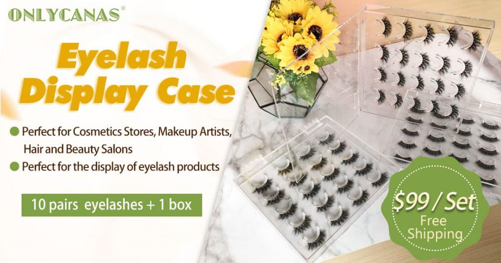 Acrylic Lashes display box