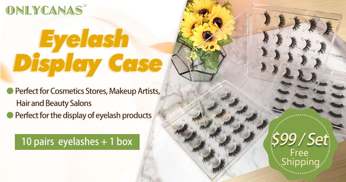 Acrylic Lashes display box