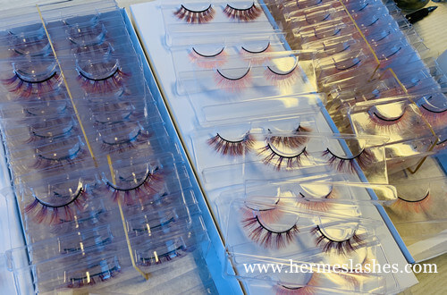 colored eyelashes wholesale
