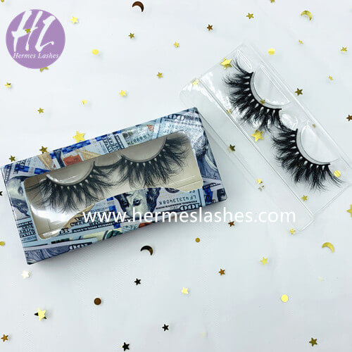 custom money eyelash box