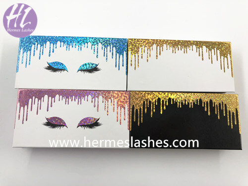 drop liquid custom lash box