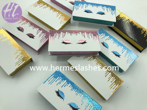 drop liquid eyelashes packaging case