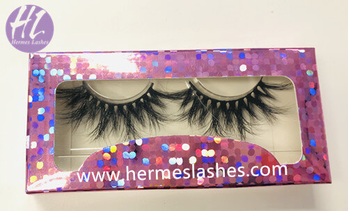 Empty Paper Card Eyelash Packaing