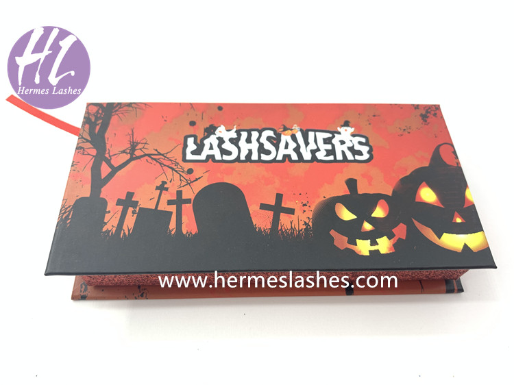 Halloween mink lashes boxes