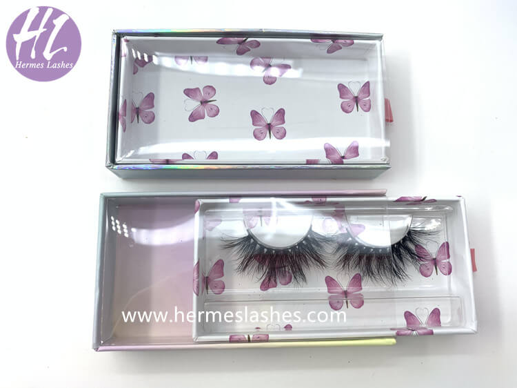 butterfly eyelashes box custom