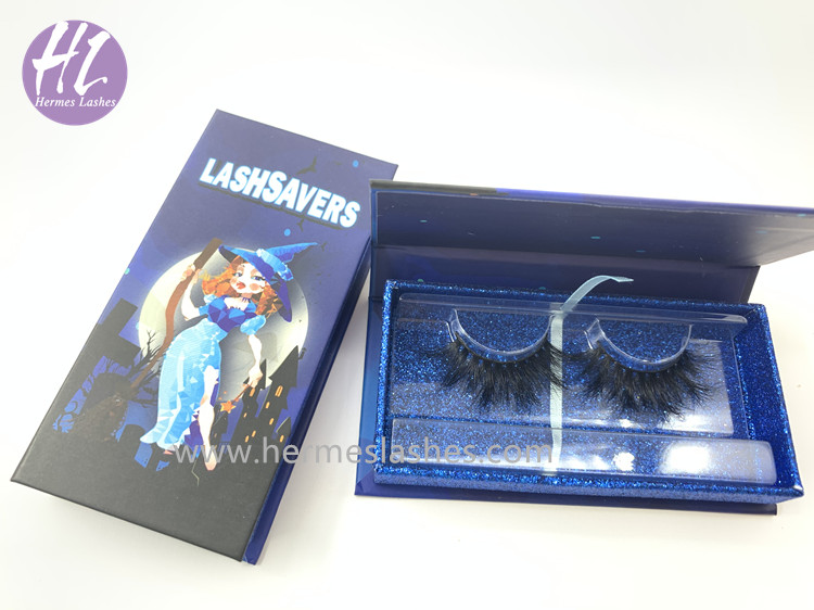 Halloween Eyelash Packaging