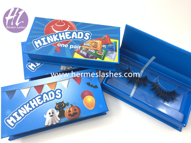 Halloween Eyelash Packaging Boxes