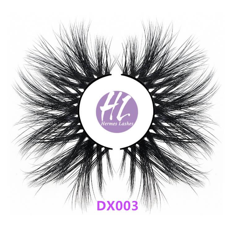 28MM MINK EYELASHES WHOLESALE - DX003