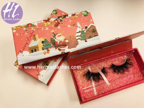 Chrismas eyelash packaging