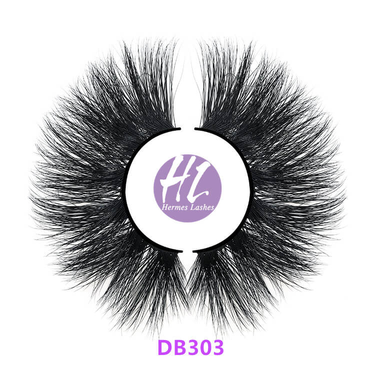 25mm 5D Double Layered Lashes