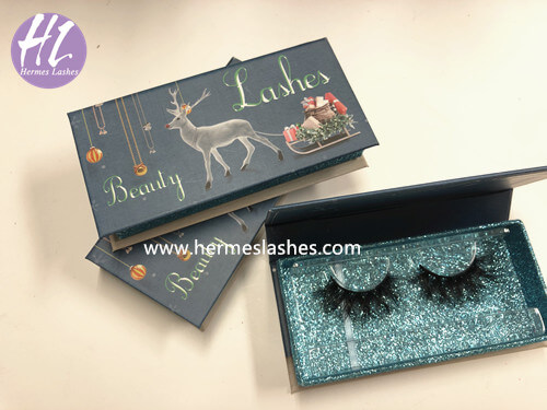Eyelash Vendors Wholesale - Chrismas Packaging