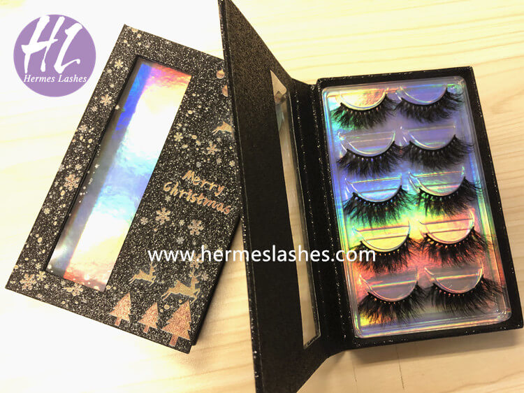 Christmas Mink Lashes Book Pack