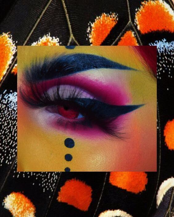 halloween eyelashes_40mm eyelash vendor