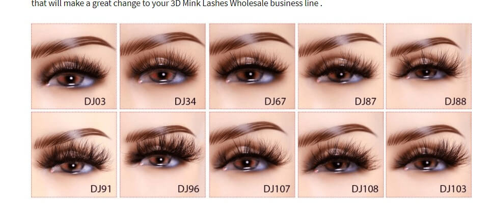 Wholesale 3D Mink Lashes Vendor lash vendors