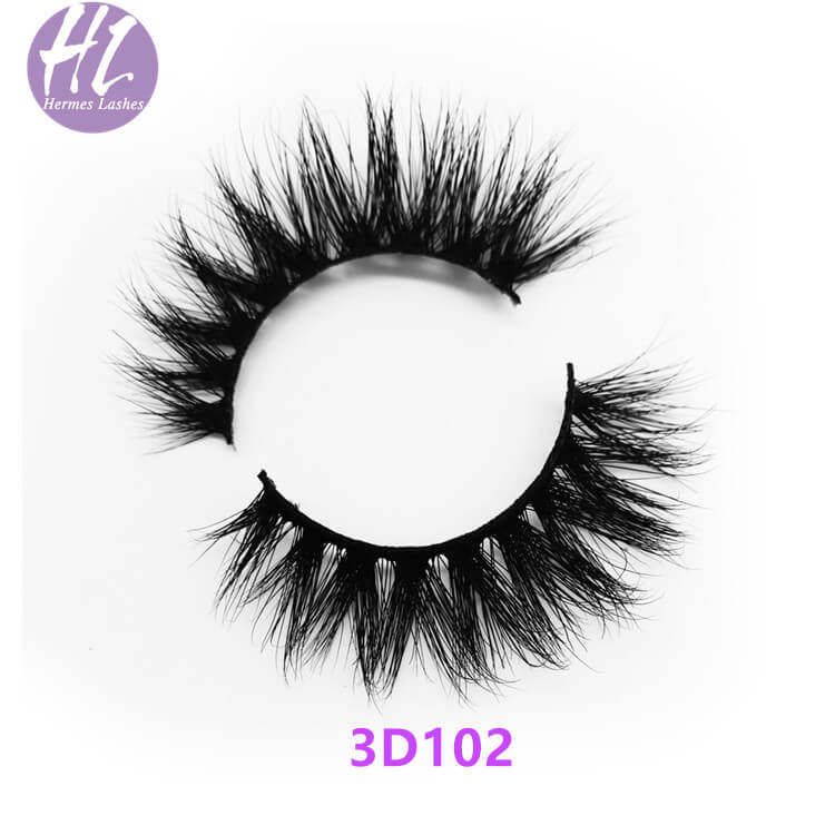 3D Natural Mink Eyelash Wholesale
